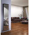 DQ Heating Delta 230 x 1600mm Brushed Stainless Steel Vertical Radiator - Thumb Image 4