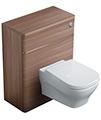 Ideal Standard Softmood 650mm WC Unit Walnut - T7819S6 - Thumb Image 1