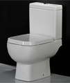RAK Series 600 Close Coupled WC Pack With Standard Seat 600mm - Thumb Image 3