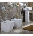 RAK Metropolitan Back To Wall WC Pan With Soft-Close Seat 525mm - Thumb Image 4