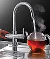 Franke Minerva 3-In-1 Kettle Kitchen Sink Mixer Tap Chrome - Thumb Image 4