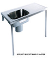 Twyford Stainless Steel 1200 x 600mm Plaster Sink And Worktop - Thumb Image 3