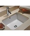 Twyford Moda Under Countertop Washbasin 460 x 410mm - MD4510WH - Thumb Image 3