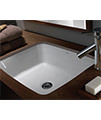 Twyford Moda Under Countertop Washbasin 460 x 410mm - MD4510WH - Thumb Image 4