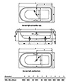 Bette Ocean Low Line Super Steel Bath 1800 x 800mm - BETTE8838 - Thumb Image 2