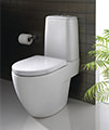 Twyford 3D 680mm Close Coupled WC Suite With Standard Seat - Thumb Image 3