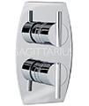 Sagittarius Pure Chrome Concealed Thermostatic Shower Valve - Thumb Image 1